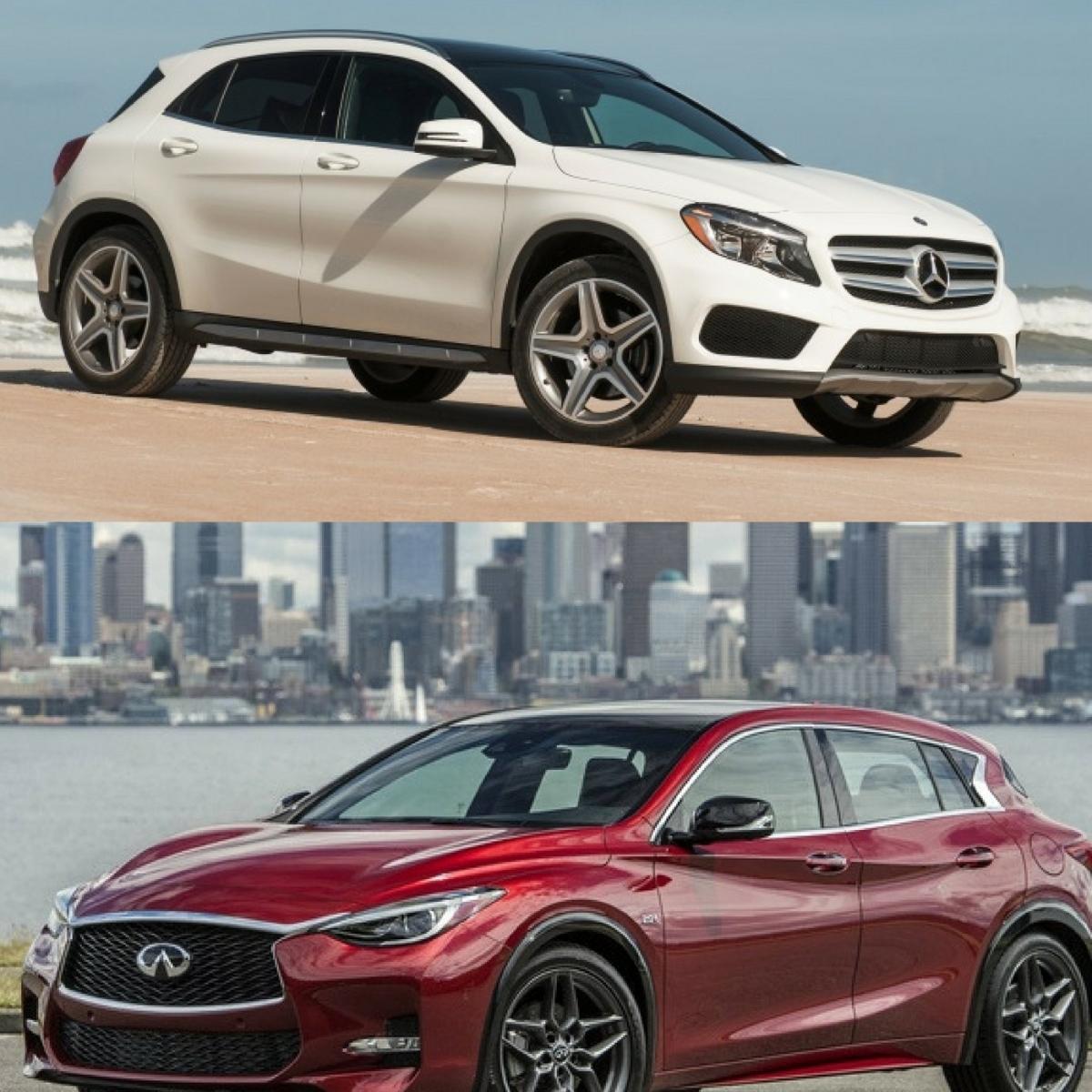Mercedes-Benz GLA Class VS. Infiniti QX30 Comparison